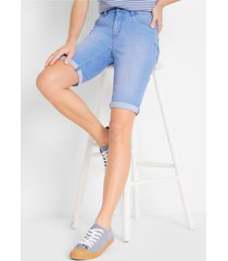 stretch jeans bermuda