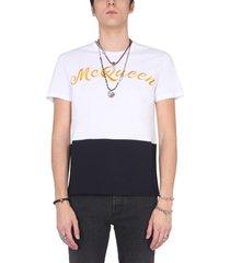 alexander mcqueen t-shirt with logo