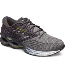 wave creation 21 shoes sport shoes running shoes grå mizuno