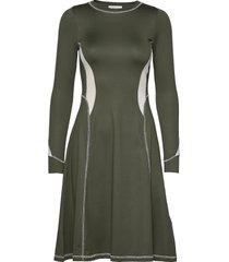 sue dress kort klänning grön wood wood