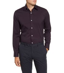 men's bonobos trim fit stripe dress shirt
