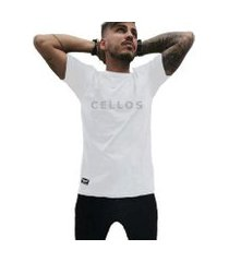 camiseta cellos classic wide collar premium masculina