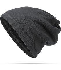 cappello da polso in poliestere caldo antisdrucciolevole caldo unisex del cappello del cappello di riciclaggio esterno del collare multifunzionale