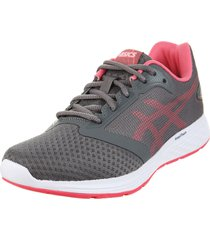 zapatilla  gris asics patriot 10 a