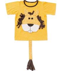 camiseta dani lessa interativa leão amarela