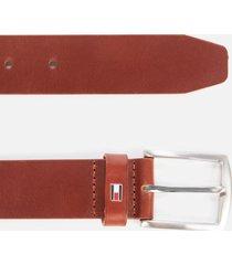 tommy hilfiger men's new denton belt 3.5 - dark tan - 95cm/l - tan