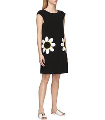 boutique moschino dress boutique moschino cady dress with daisy print