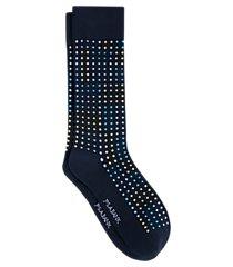 jos. a. bank textured dot socks, 1-pair clearance