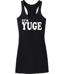 it's yuge funny trump tee political party sex tee racerback dress