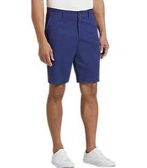 joseph abboud medium blue modern fit shorts
