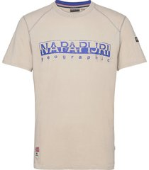 sishop t-shirts short-sleeved grå napapijri