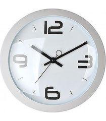 zegar okrągły retro white