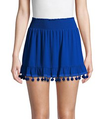 stevie pom-pom skirt