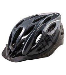capacete para ciclismo átrio mtb 2.0 led preto e cinza