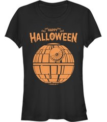 fifth sun star wars women's death star happy halloween short sleeve tee shirt