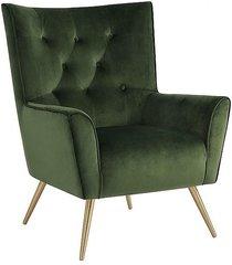 fotel bologna forest green gold