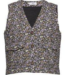 enbasil waistcoat 6829 vests knitted vests multi/mönstrad envii