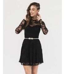 vestido negro florencia casarsa