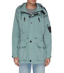 x arkair hooded utility jacket
