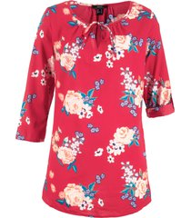 tunica a fiori (rosso) - bpc bonprix collection