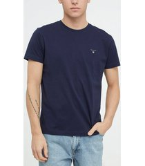 gant the original ss t-shirt t-shirts & linnen dark blue