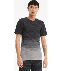porsche design evoknit t-shirt heren, grijs, maat xl | puma