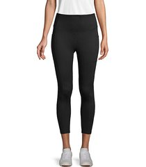 pull-on cropped leggings