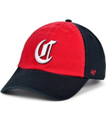 '47 brand cincinnati reds on-field replica clean up cap