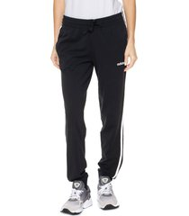 pantalón  negro  adidas originals  w e 3s pant sj