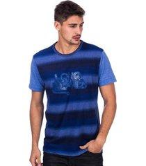 camiseta jeans long island ld masculina