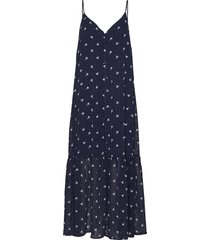 kailagz oz strap dress hs20 maxiklänning festklänning blå gestuz