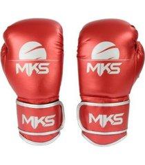 luva boxe muay thai mks combat energy