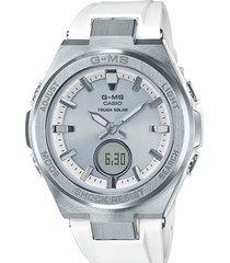 reloj casual blanco g-shock