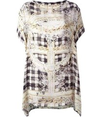 printed jurk tuniek