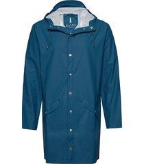 long jacket regnkläder blå rains