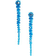 women's simone rocha beaded drop earrings