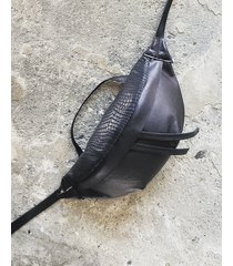 duża skórzana nerka torebka ina bag