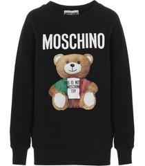 moschino teddy italia sweater