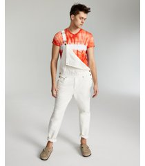 sun + stone men's baxter relaxed-fit overalls