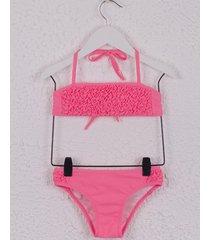 bikini fucsia mapamondo emis