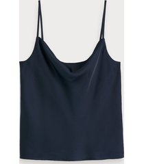 scotch & soda tanktop met watervalhals