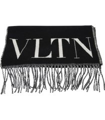 valentino garavani branded scarf