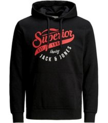 jack & jones men's sweatshirt hoodie with adjustable strings