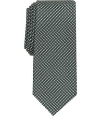 alfani men's kingsley slim geo tie, created for macy's