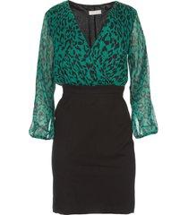 jurk met luipaardprint milena  dierenprint