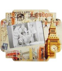 porta retrato  postcard 20x24cm kasa ideia - bege - dafiti