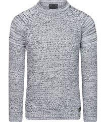 rusty neal trui heren - 6240 zwart/wit
