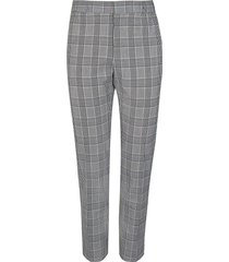 river island mens grey check print slim fit pants