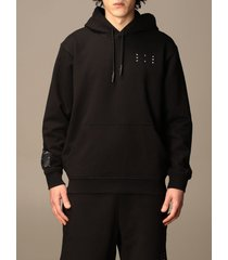 mcq alexander mcqueen mcq sweatshirt mcq hoodie in cotton with logo