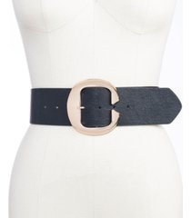 inc c-buckle stretch-panel belt, created for macy's